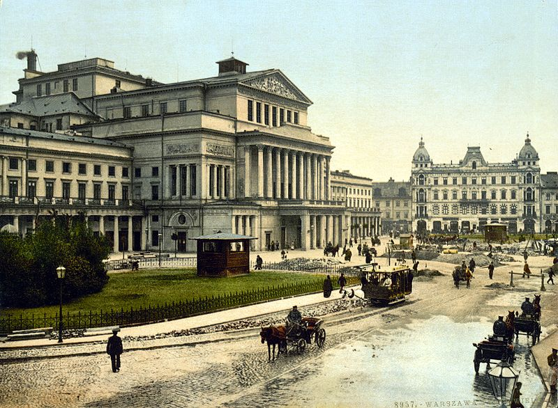 800px-Theatre_Square_Warsaw_about_1900